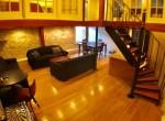 Unit D, Living room 0