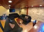 Unit D, living room
